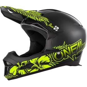 ONeal Fury RL Helmet MAUI black/neon yellow